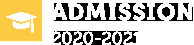 Admission 2020 - 2021